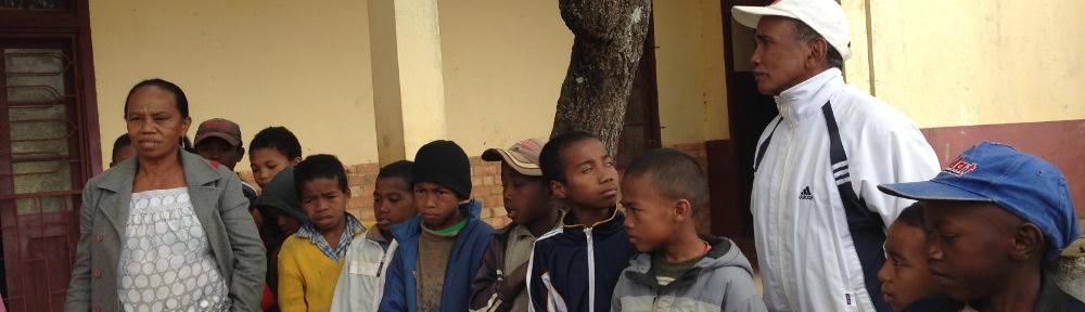 Des enfants de Madagascar