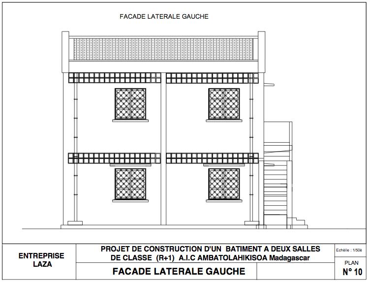 facade laterale